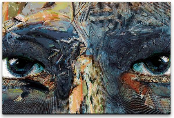 gemalte Augen Wandbild in verschiedenen Größen