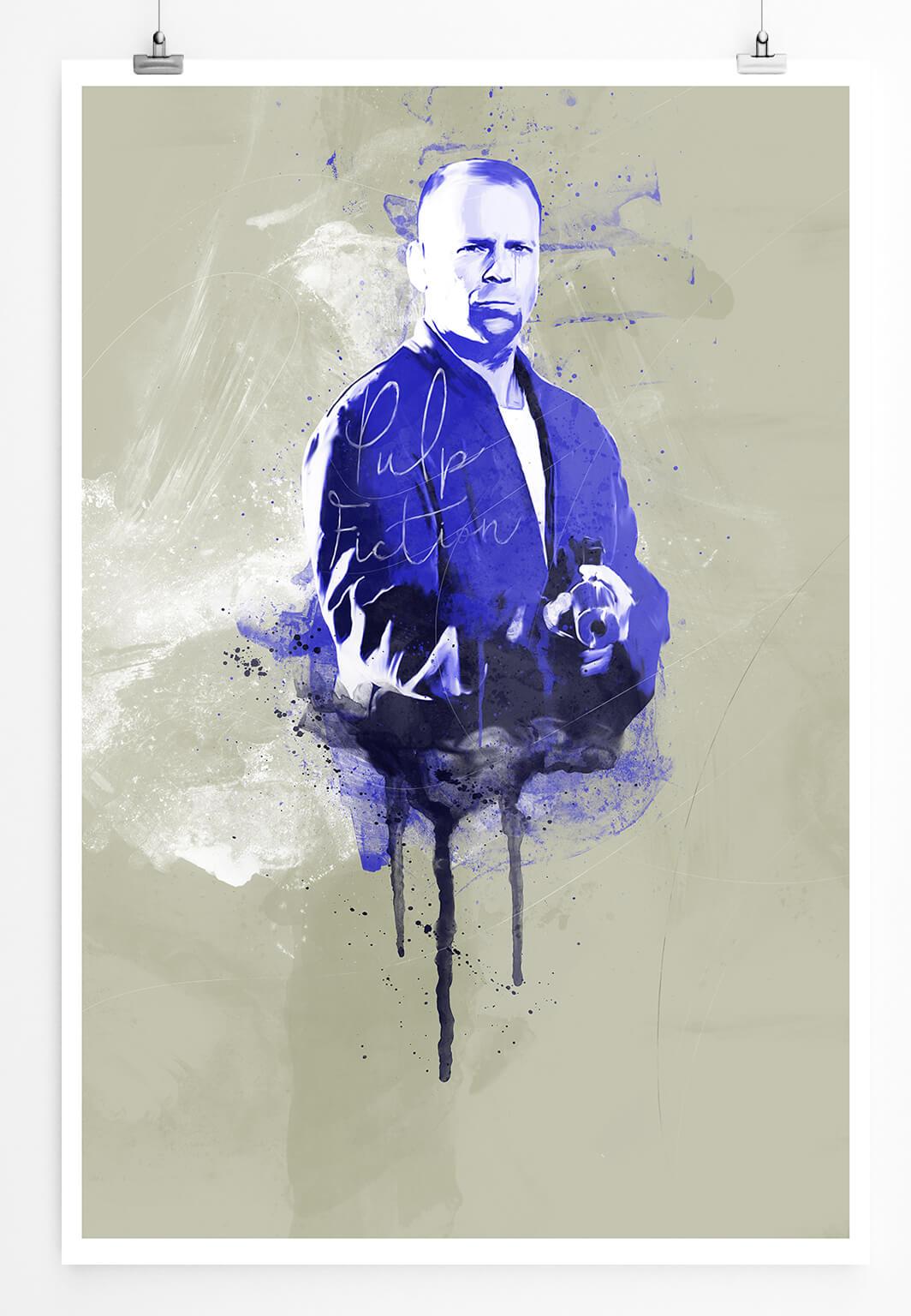 90x60cm PAUL SINUS Splash Art Gemälde Pulp Fiction Art Geschenkartikel