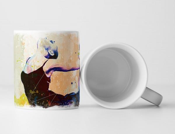 Ballett III Tasse als Geschenk, Design Sinus Art