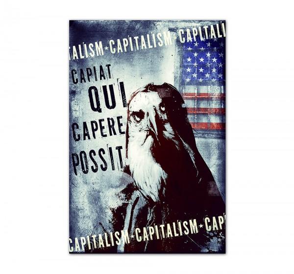 Capitalism, Art-Poster, 61x91cm