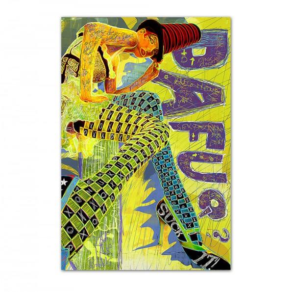 Dafuq, Art-Poster, 61x91cm