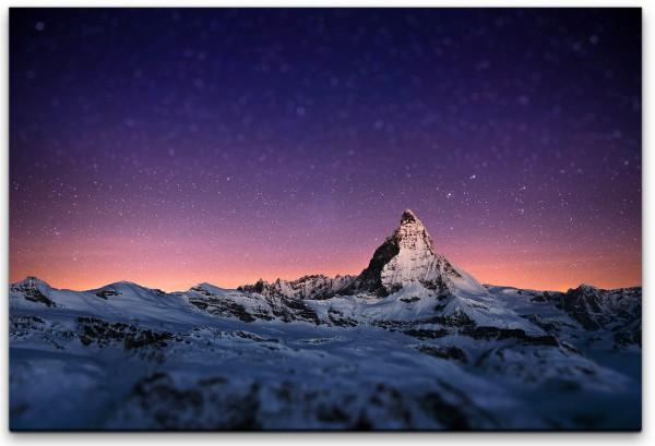 Matterhorn Schweiz Wandbild in verschiedenen Größen