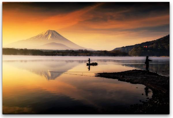 Japan Berg Wandbild in verschiedenen Größen