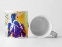 Boxen V Tasse als Geschenk,  Design Sinus Art