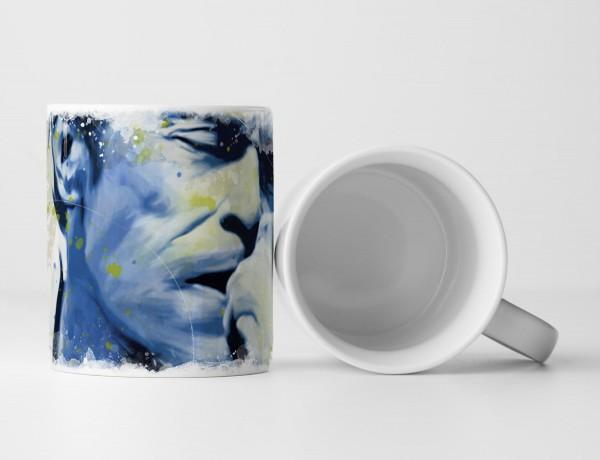 Willem Dafoe II Tasse als Geschenk, Design Sinus Art