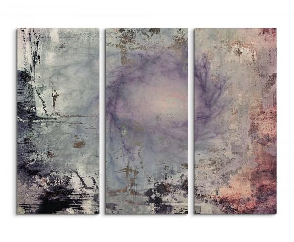 130x90cm Wandbild Abstrakt 1456 -3x90x40cm