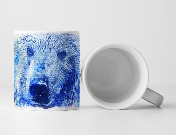 Bear Tasse als Geschenk, Design Sinus Art