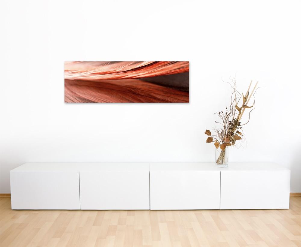 Fotografia natura – – – Rosso Arancione primo piano una molla su tela 2de3ab