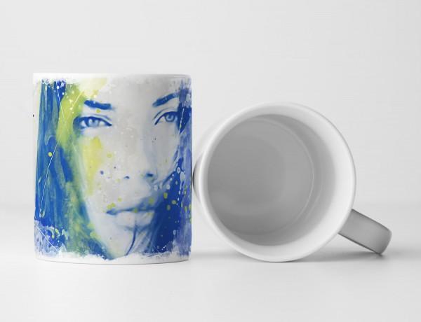Adriana Lima IV Tasse als Geschenk, Design Sinus Art