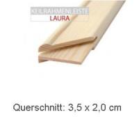 "Keilrahmenleiste ""Laura"" 19 x 35 mm"