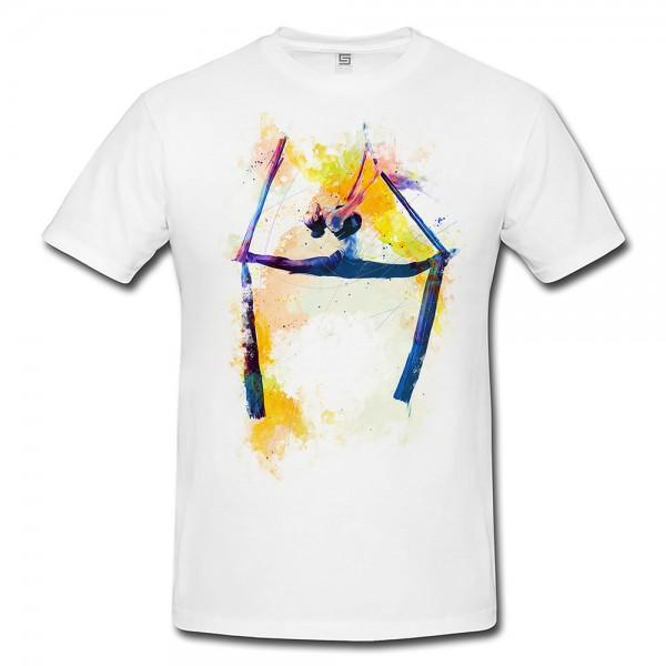 Turnen XI  Herren und Damen T-Shirt Sport Motiv aus Paul Sinus Aquarell