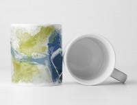 Boxen Tasse als Geschenk,  Design Sinus Art