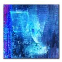 Lichtblick, abstrakt, 60x60cm