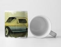 Cadillac Eldorado Tasse als Geschenk,  Design Sinus Art