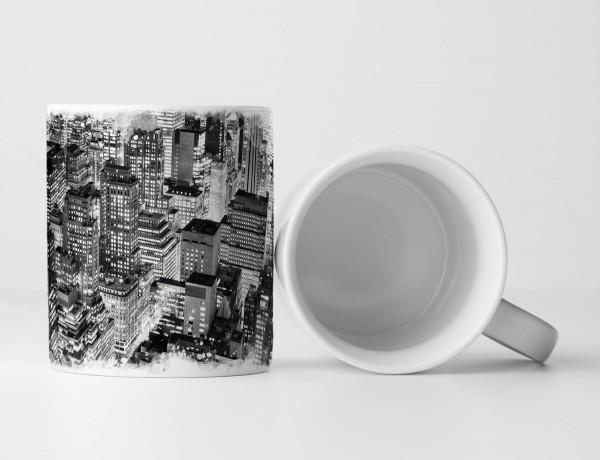 Tasse Geschenk Sicht vom Empire State Building