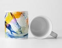 Windsurfer III Tasse als Geschenk,  Design Sinus Art