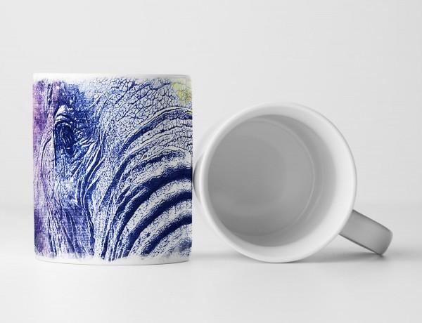 Elephant Africa Tasse als Geschenk, Design Sinus Art