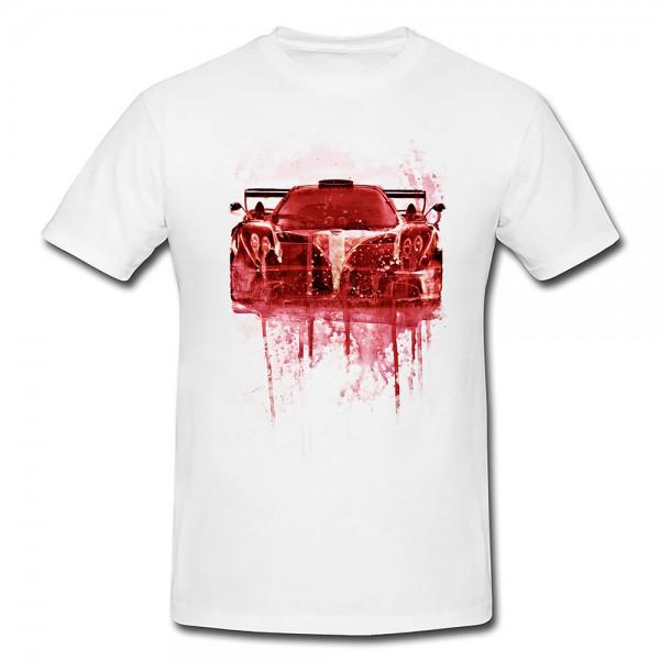 Pagani Zonda Premium Herren und Damen T-Shirt Motiv aus Paul Sinus Aquarell