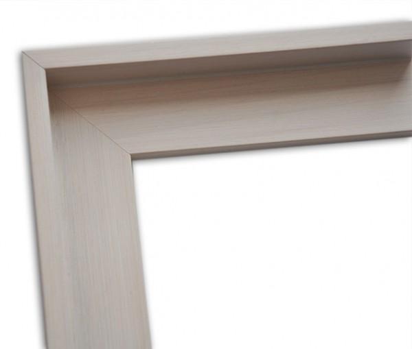 Echtholz Schattenfugenrahmen klassisch schlicht in beige