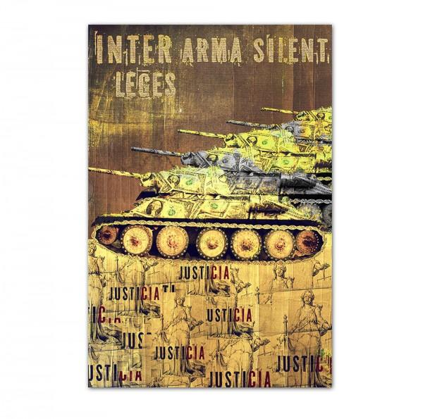 Inter arma silent leges, Art-Poster, 61x91cm