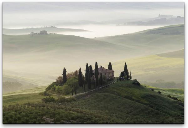 Toscana Panorama Wandbild in verschiedenen Größen