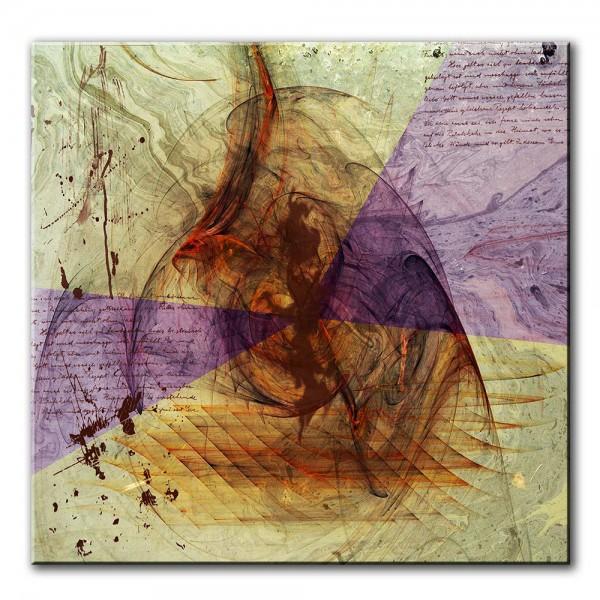Unruhe, abstrakt, 60x60cm