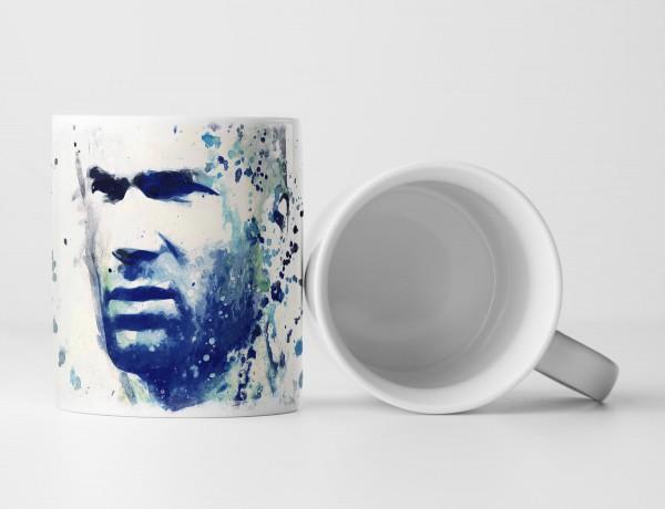 Zinedine Zidane III Tasse als Geschenk, Design Sinus Art