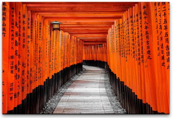 Kyoto Wandbild in verschiedenen Größen