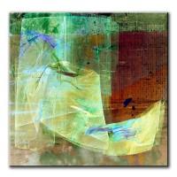 Beständigkeit, abstrakt, 60x60cm