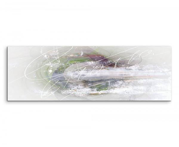 Abstraktes Panoramabild 1315 150x50cm