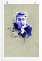 Four Rooms 90x60cm Paul Sinus Art Splash Art Wandbild als Poster ohne Rahmen gerollt