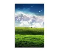 Green Field Fantasy Art 90x60cm