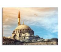 Wandbild Istanbul Yeni Cami Moschee