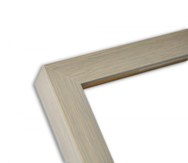 Moderne Blockleiste grau lasiert