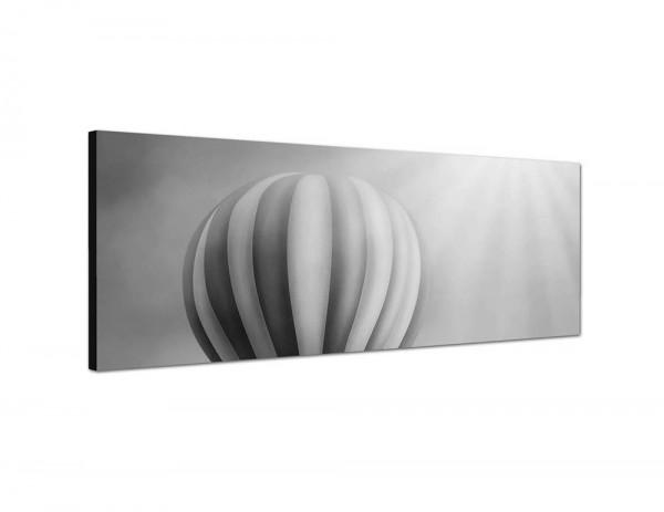 150x50cm Heißluftballon Himmel Wolken Sonne