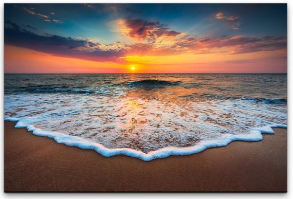 Strände und Sonnenuntergang Wandbild in verschiedenen Größen