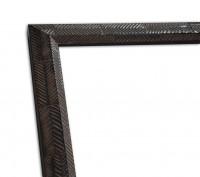 Rustikale Rahmenleiste in dunkelbraun moderne Oberflächenverziehrung