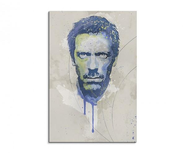 Dr House Aqua 90x60cm Aqua Art Wandbild