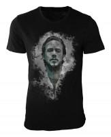 Ryan Gosling I Damen und Herren T-Shirt schwarz / black