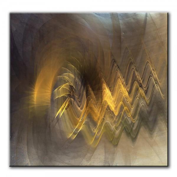 Dunkle Winde, abstrakt, 60x60cm