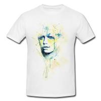 skajsfhj Premium Herren und Damen T-Shirt Motiv aus Paul Sinus Aquarell