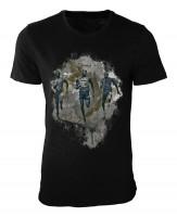 Running II Damen und Herren T-Shirt schwarz / black
