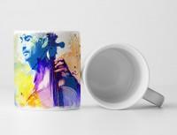 Chello Spieler I Tasse als Geschenk,  Design Sinus Art