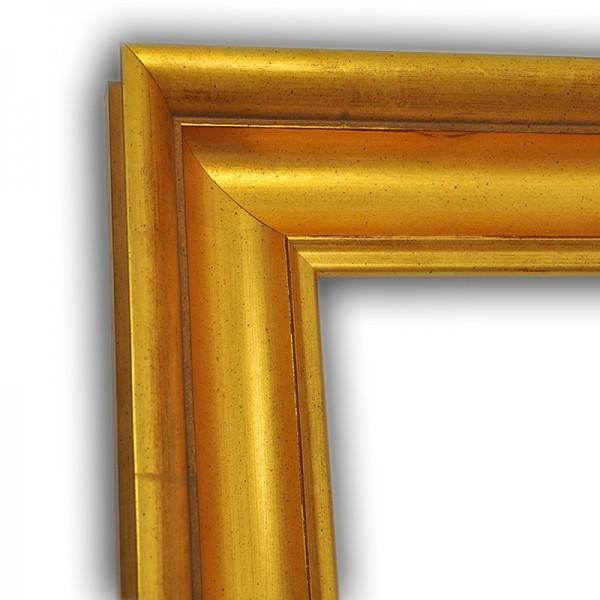 Klassischer Echtholzrahmen Gold