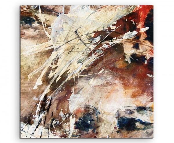 Ölgemälde – abstrakt modern chic chic dekorativ schön deko schön deko e Augen auf Leinwand