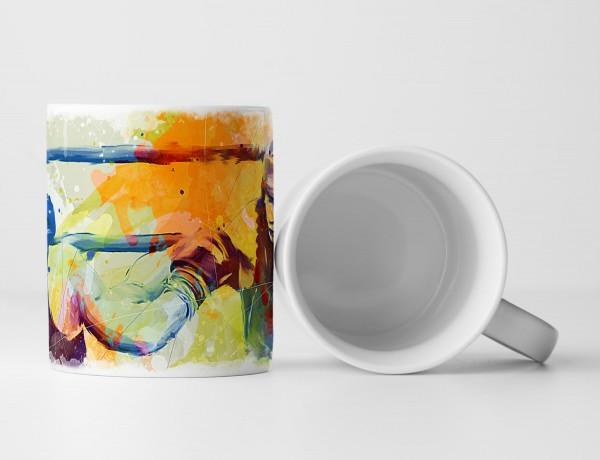 Boxen VI Tasse als Geschenk, Design Sinus Art