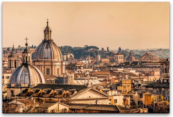 Skyline von Rom Wandbild in verschiedenen Größen