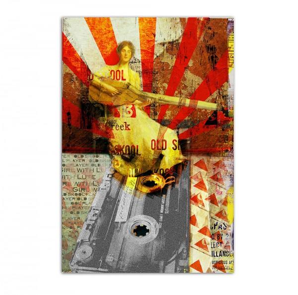 Old skool player, Art-Poster, 61x91cm