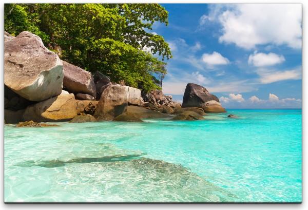 Tropischer Strand Wandbild in verschiedenen Größen