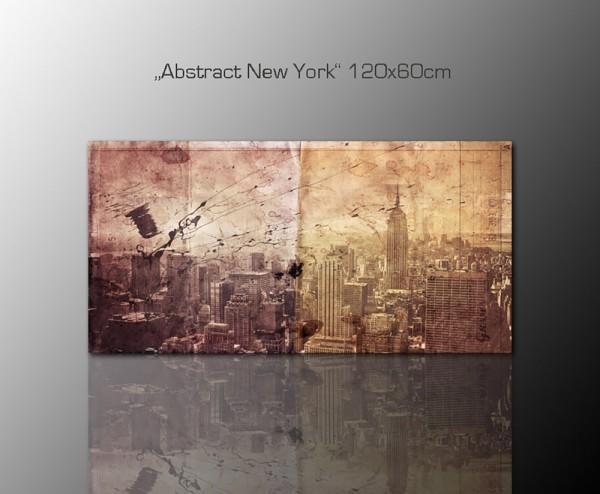 Abstrakt New York